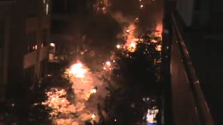 WAR ZONE - ATHENS GREECE 6TH DECEMBER 2013