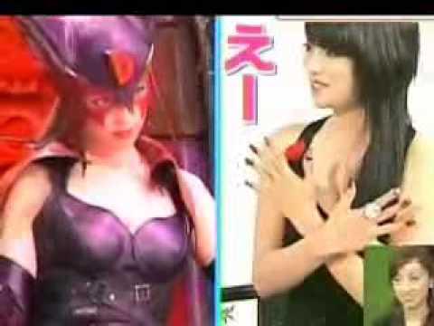 深田恭子がドロンジョのコスプレを披露