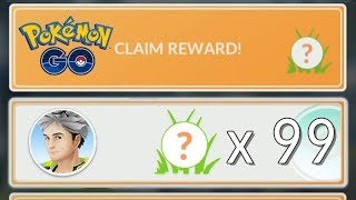 HOW TO STACK CLAIM REWARDS! Pokemon GO Research Exploit! Stack Up To 99 Pokemon in Claim Rewards