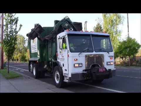 West Coast Garbage Trucks - Part II: Oregon