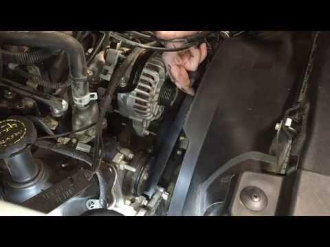Ford 4.6L 5.4L V8 Engines Serpentine Belt Replacement