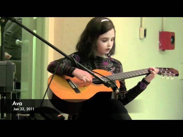 Ava's Guitar Recital Winter 2011
