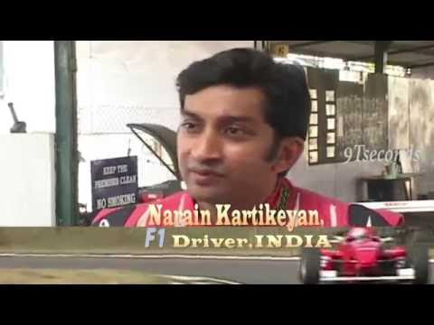 Narain Karthikeyan, India's F1 driver -- Fastest Indian on road :)