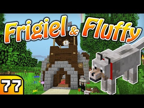 FRIGIEL & FLUFFY : Ma belle église | Minecraft - S5 Ep.77 thumbnail