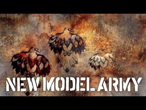 New Model Army between Dog And Wolf  Album Medley - New Album Out September 20th video