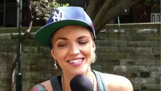 Ruby Rose Talks About Guilty Pleasures, Boxing & Remixes! (Getmusic Intervew)