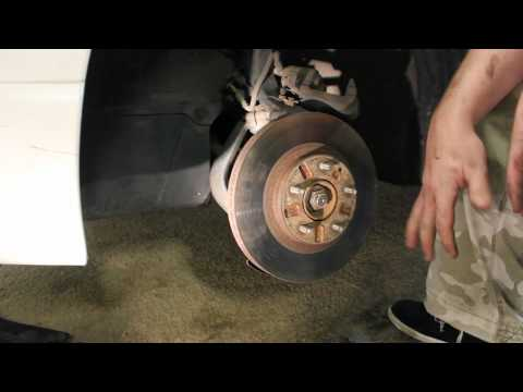 How to Replace Front Brakes Mazda Millenia 95-02