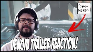 Venom Movie Trailer Reaction | How is Tom Hardy as Eddie Brock? How Does the Symbiote Look?