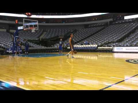 Mark Cuban (Dallas Mavericks) shooting session