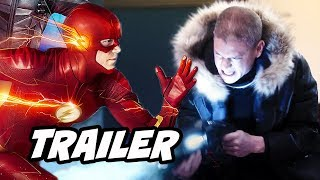 The Flash 4x19 Promo and Superman Action Comics #1000 Reaction