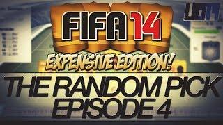 FIFA 14 - The Random Pick #4 - Expensive Edition! 1 Million Coin Squad!