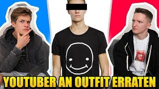 ❓ YOUTUBER AN OUTFIT ERRATEN (mit Luca)