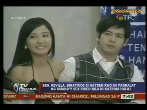 Philippines very own Edison Chen - Katrina Halili - Hayden Kho sex video scandal