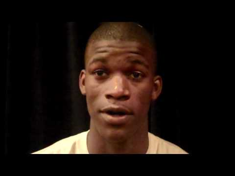 Jimmy Butler NBA Draft Interview at Chicago Combine w/ TheHoopsReport.com