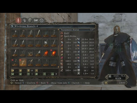 Dark Souls 2: Staff of Wisdom Location (BEST CATALYST IN THE GAME)