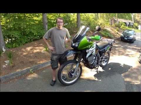 2008 Kawasaki KLR650 Modifications for Adventure Touring