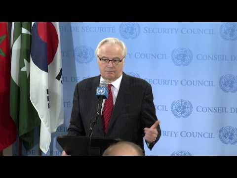 Vitaly Churkin on Syria Chemical