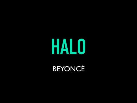 Beyoncé - Halo Karaoke Instrumental Lyrics On Screen LOWER KEY SLOWER