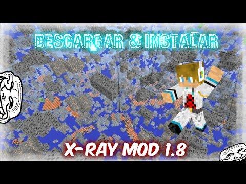Descargar & Instalar X-Ray Mod 1.8 |Para Minecraft 1.8!!!