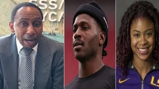 Stephen A Smith Breaks Down Antonio Brown Antics & Accusation 'Clown-Ish'