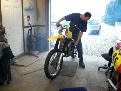 81 YZ 465 first fire after