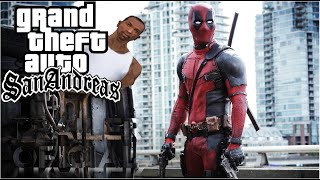 Deadpool | Red Band Trailer  [HD] | GTA San Andreas