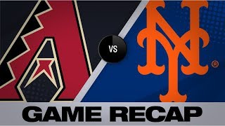 Frazier, Wheeler help Mets edge D-backs, 3-2 | D-backs-Mets Game Highlights 9/10/19