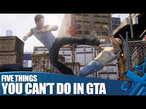 Sleeping Dogs: Definitive Edition - 5 things you can't do in GTA!