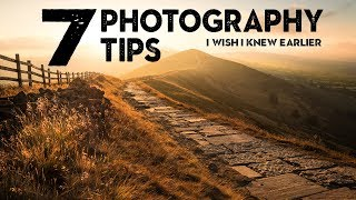 02. 7 SIMPLE photography TIPS I wish I knew EARLIER