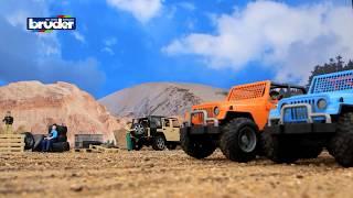 Jeep Cross Country Racer blue & orange -- 02541 & 02542 -- Bruder Spielwaren