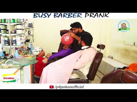   BUSY BARBER   Prank By Nadir Ali & Team In   P4 Pakao   2017
