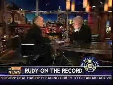 Rudy: China's Gonna Drill American Oil Off Cuba!