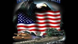 Patriotic Armed Forces Tribute 4th Of July