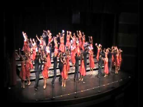 Nat King Cole's Orange Colored Sky performed by Xuberance Xavier High School Cedar Rapids, Iowa - 01/26/2012