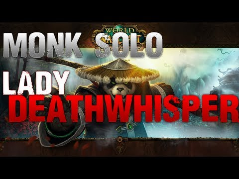 Monk Solo: Lady Deathwhisper (ICC 10 Man)