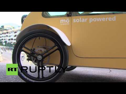 Spain: Is Evovelo's solar-powered 'Mo' car the future for driving in cities?