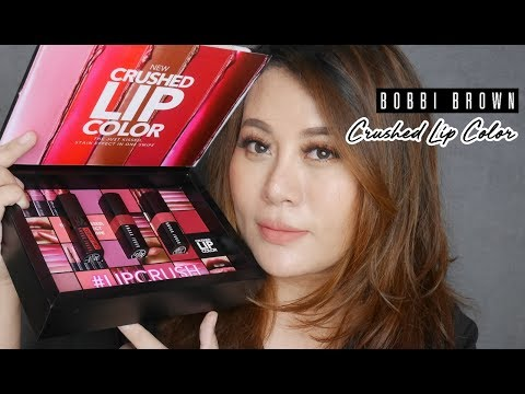 แกะลอง Bobbi Brown Crushed Lip Color 3 สี