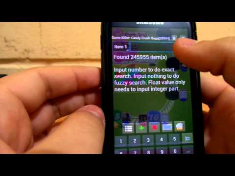 Hack Candy Crush Android- Root