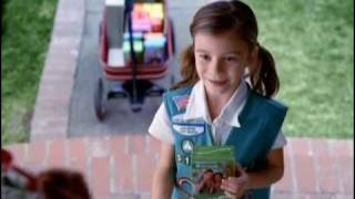 Commercial for the Dairy Queen Girl Scout Cookie Blizzard