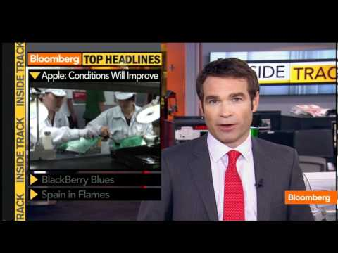 Foxconn Labor, RIM, Protests Leave Spain in Flames