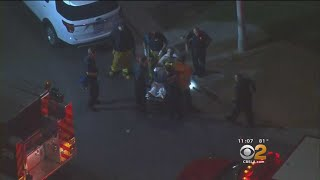 Porter Ranch Neighbors Unnerved By Stabbing, Police Shooting