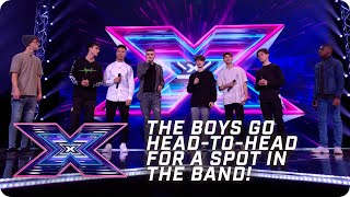 The Boys go HEAD-TO-HEAD for a spot in the band! | X Factor: The Band | Arena Auditions