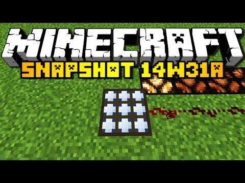 Minecraft Snapshot 14w31a - RABBIT SOUNDS & MORE! (HD) klip izle