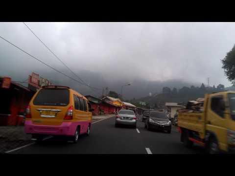 Video travel jakarta bandung via puncak
