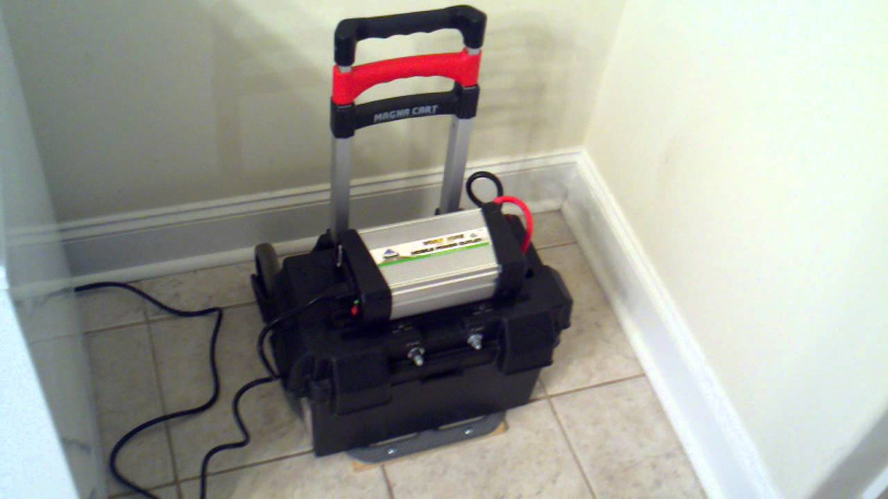 DIY - Portable Solar Power - The Practical Freezer Test - PART 2 ...