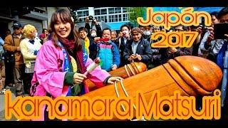 kanamara Matsuri - Japon  [ 4K ] 2017  ( Dia Del Pene  ) かなまら祭り
