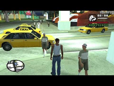 GTA San Andreas - CJ talks to people in Las Venturas