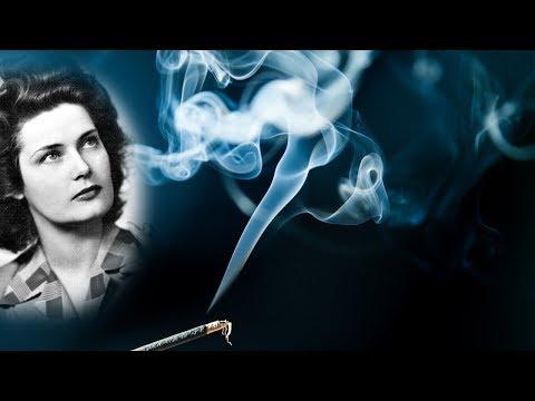 Hamvadó cigarettavég - Karády Katalin