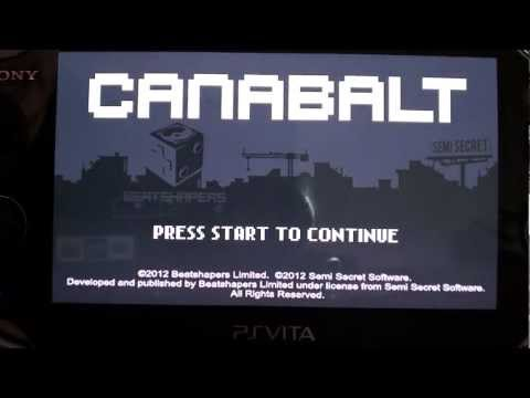 PS Vita Canabalt Review (PS Vita PSP Minis)