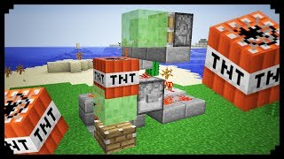 ✔ Minecraft: How to make a Slime Block Cannon